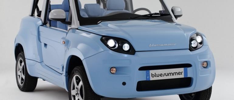 Bluesummer: carro elétrico para uso compartilhado da PSA Peugeut e a Bolloré, já em produção na França