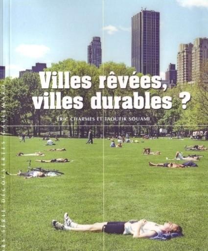 Capa do livro Villes rêvéss, villes durables? (Cidades Sonhadas, Cidades Sustentáveis?)