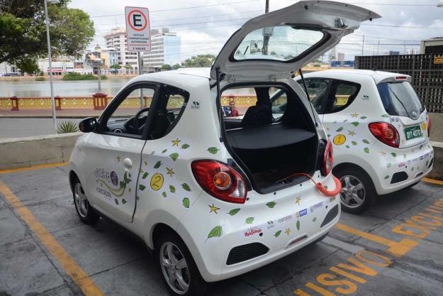 carro elétrioc compartilhado_porto_recife_divulgação