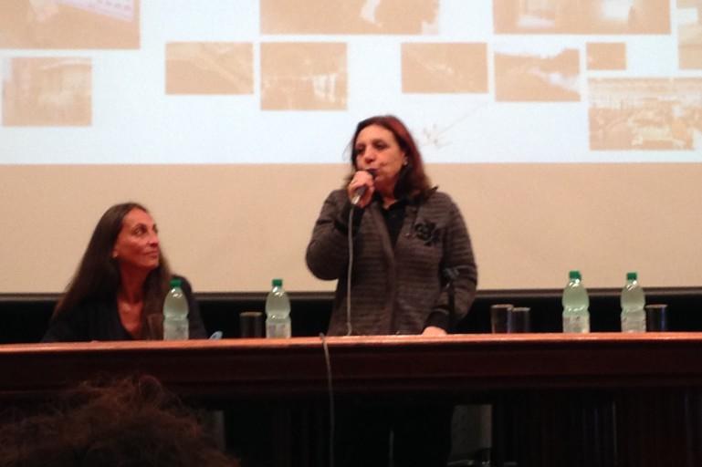 Ana Oliveira, prefeita de Montevidéu e membro do Conselho Acadêmico Internacional do IVM, em encerramento do Seminário Montevidéu