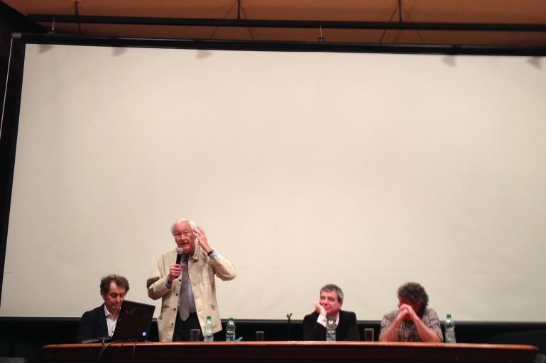 Marcel Smets, presidente da cátedra internacional do IVM, em encerramento do Seminário Montevidéu.